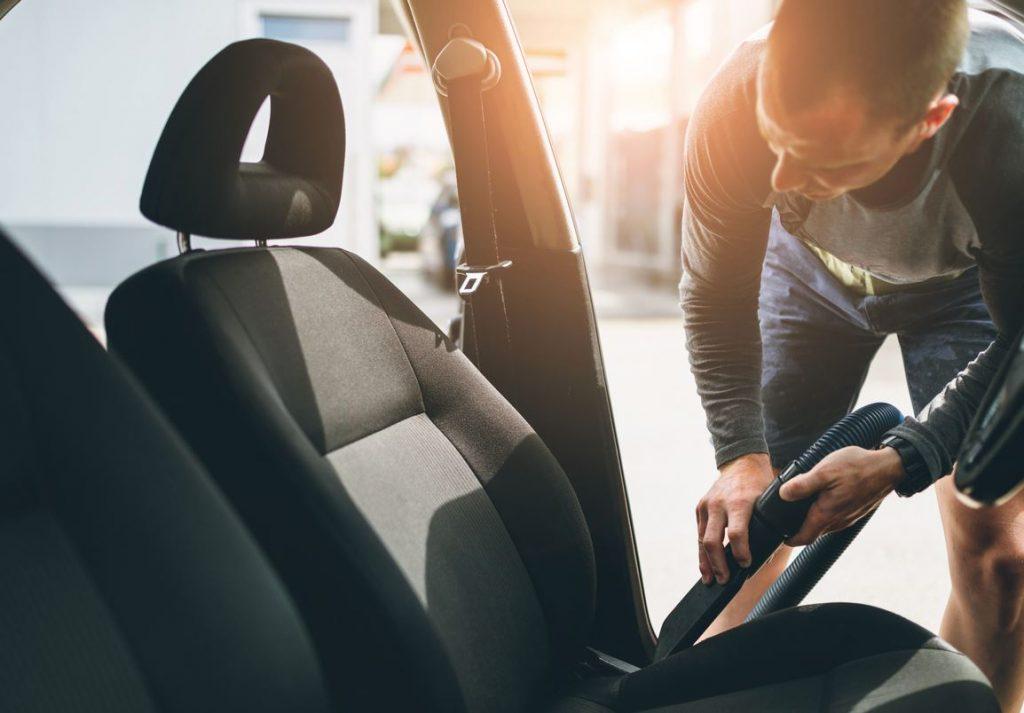 limpieza asientos de tela coche
