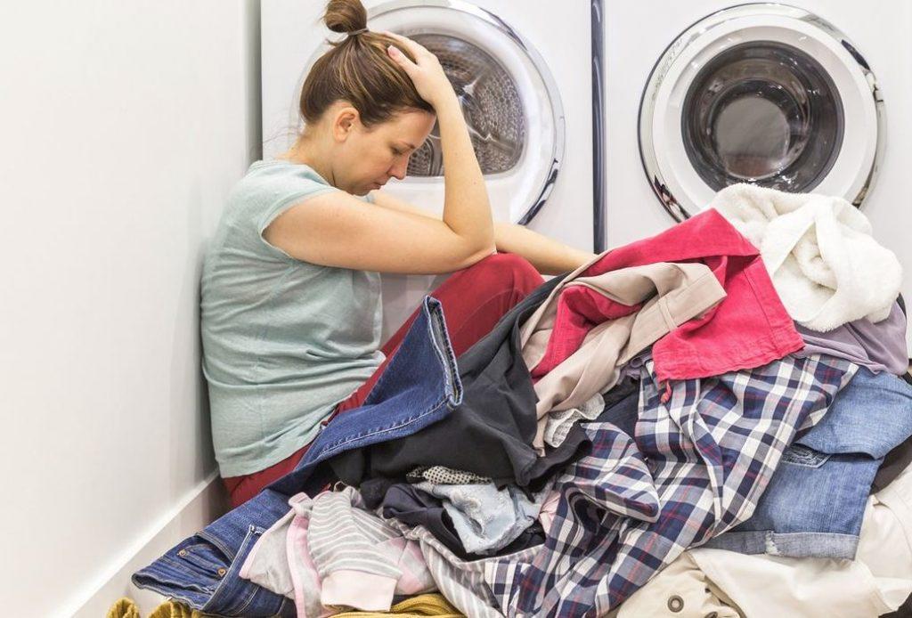 mi lavadora suelta suciedad