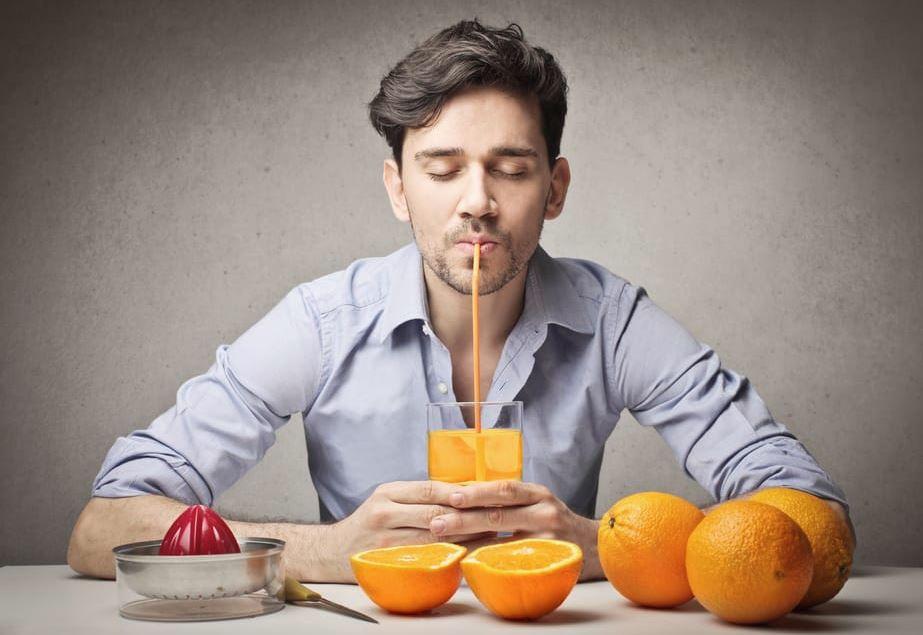 quitar manchas de color naranja